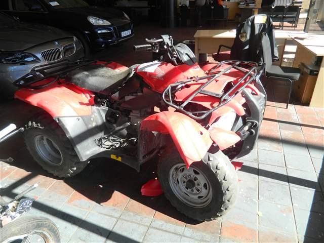 2011 HONDA MOTORCYCLE TRX 450 4X4