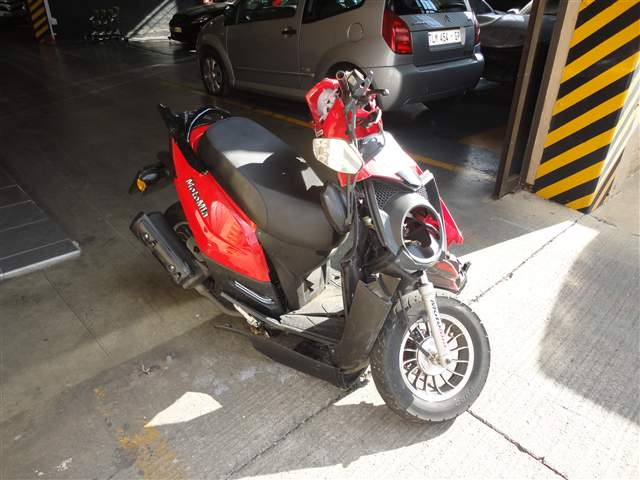 2012 MOTOMIA M/CYCLE 125CC