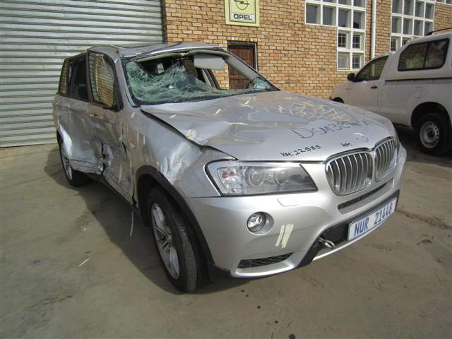 2012 BMW X3 3.0 D A/T