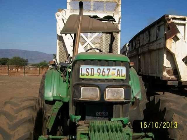 2006 JOHN DEERE TRACTOR 6420