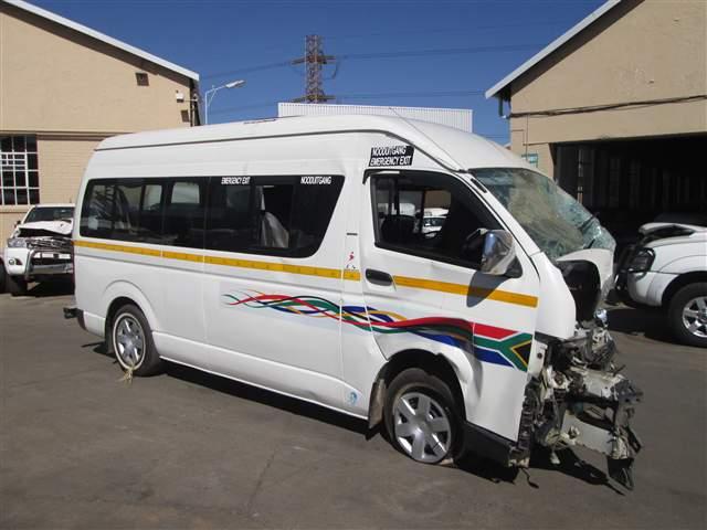 Code 2 2012 Toyota Quantum In Gauteng Johannesburg 419202