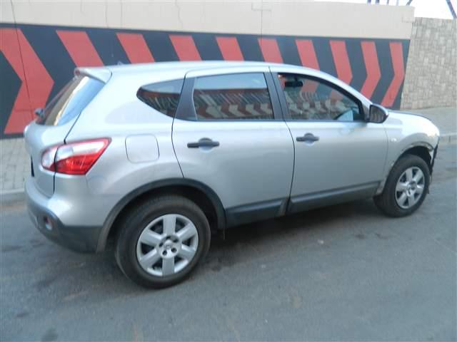 Code Unknown 2014 Nissan Qashqai In Gauteng Johannesburg