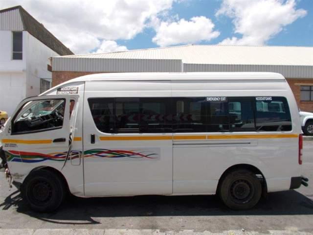 Code 2 2015 Toyota Quantum In Western Cape 597732