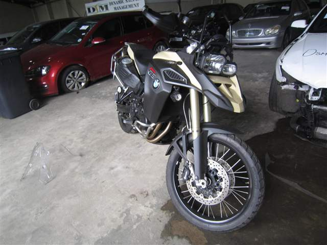 2015 BMW MOTORCYCLE F800 GS