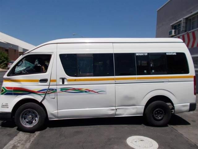 Code 2 2012 Toyota Quantum In Western Cape Cape Town 417974