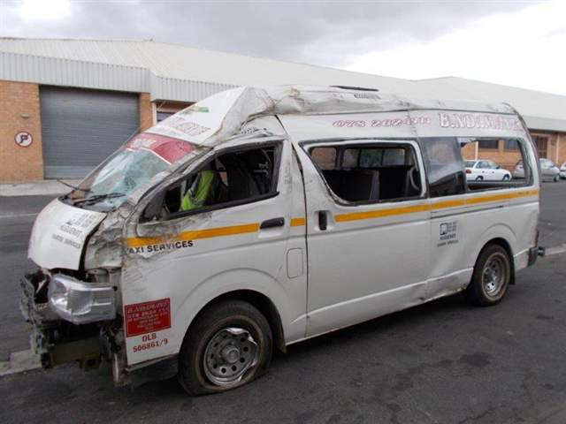 Accident Damaged Cars For Sale >> Code-2 2012 TOYOTA QUANTUM in Western Cape Cape Town, 417940