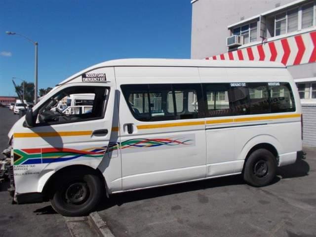 Code Unknown 2012 Toyota Quantum In Western Cape Cape Town