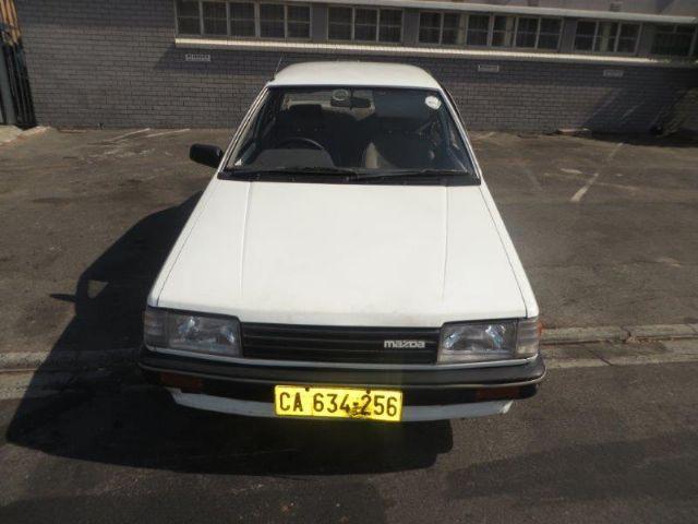 1987 MAZDA 323 1.3 L SEDAN