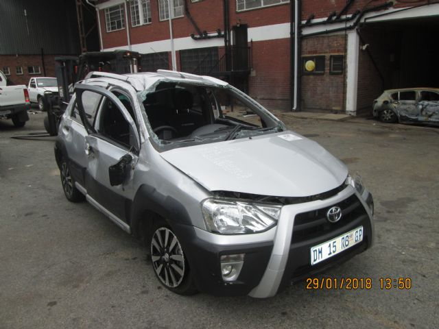 Code Unknown 2014 Toyota Etios Cross 1 5 Xs In Gauteng 596718