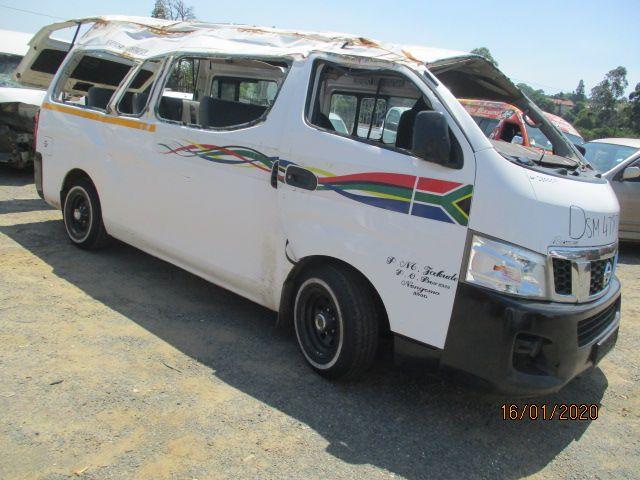 2015 NISSAN NV 350 E20 16 SEATER