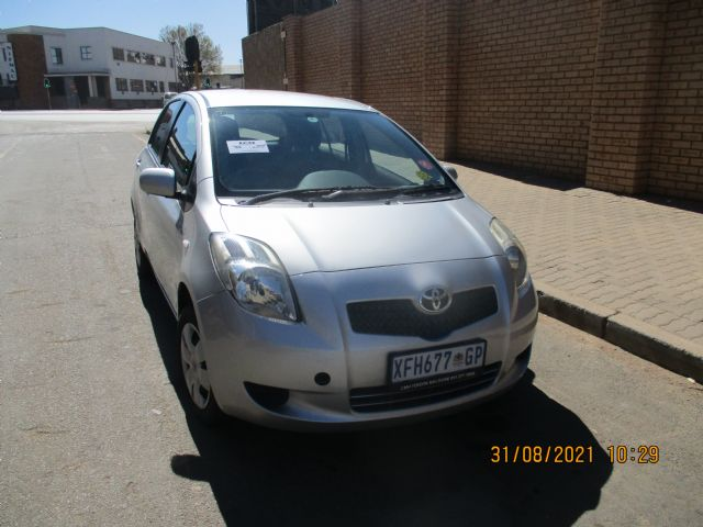 2007 TOYOTA YARIS T3 5DR A/C